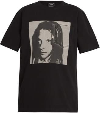 Calvin Klein Sandra Brant-print cotton T-shirt