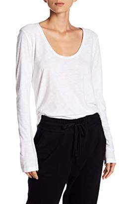 James Perse Womens Solid T-Shirt