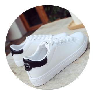Trendy-Nicer-Genuine Leather Casual Shoes Casual Net Women Shoes Pierced Breathability Tenis Feminino White
