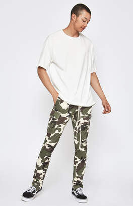 Pacsun Camouflage Drop Skinny Cargo Jogger Pants