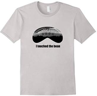 I Touched the Bean Chicago Cloud Gate T-Shirt Funny