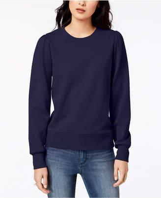 Maison Jules Blouson-Sleeves Sweatshirt, Created for Macy's