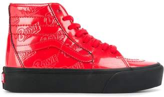 Vans x Bowie hi-top sneakers