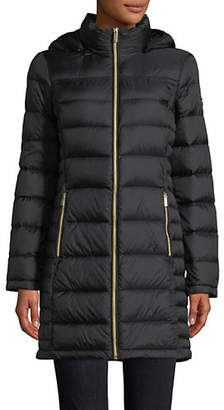 MICHAEL Michael Kors 36' Long Down Jacket