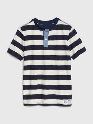 Gap Henley Short Sleeve T-Shirt