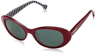 Jonathan Adler Women's PBEARED53 Oval Sunglasses