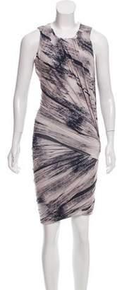 Torn By Ronny Kobo Sleeveless Printed Dress