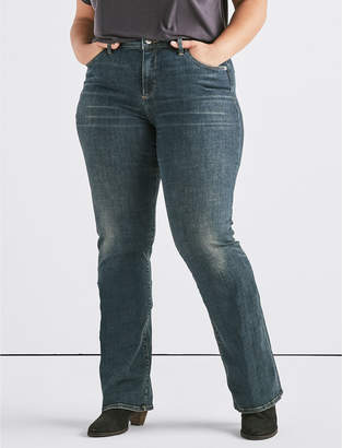 Lucky Brand Plus Hayden High Rise Boot Jean