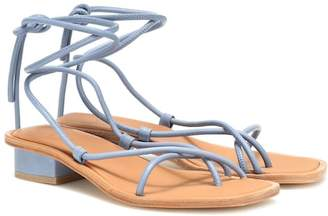 ara (アラ) - LOQ Ara leather sandals