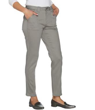 Isaac Mizrahi Live! TRUE DENIM Petite Colored Denim Ankle Jeans