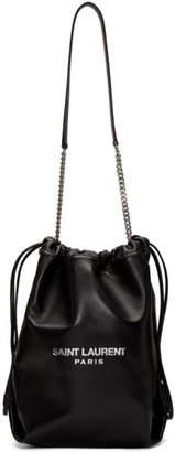 Saint Laurent Black Teddy Pouch Bag