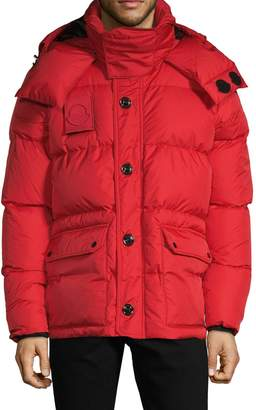 Moncler Down-Filled Quilted Jacket