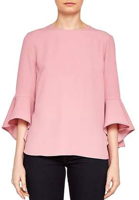 Ted Baker Juula Waterfall-Sleeve Top
