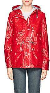 Barneys New York WOMEN'S SHINY HOODED RAINCOAT