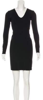 The Row Neoprene Sheath Dress Black Neoprene Sheath Dress