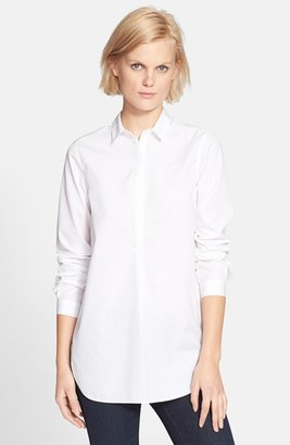 Women's Ayr 'The Easy' Cotton Poplin Shirt $125 thestylecure.com