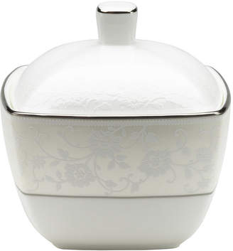 Mikasa Venetian Lace Bone China Square Covered Sugar Bowl