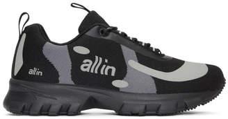 all in Black and Grey Yokoama Sneakers