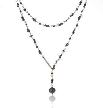 Black Diamond Mcfarlane Fine Jewellery Raw Necklace