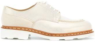 Paraboot X Anne Thomas derbyround toe shoes