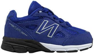 New Balance Solid Mesh Panel Low-Top Sneaker