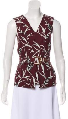 Marni Sleeveless Belted Top