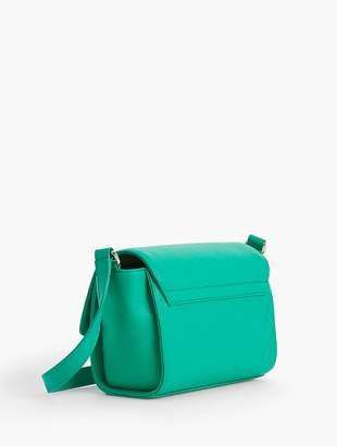Talbots Pebble Leather Crossbody Bag