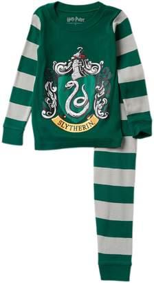 Intimo Harry Potter Slytherin Snug Fit Cotton PJ Set (Little Boys & Big Boys)