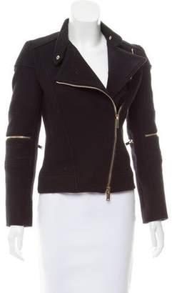Stella McCartney Wool Moto Jacket