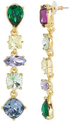 Kenneth Jay Lane Mismatched Drop Earrings