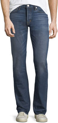 Tom Ford Straight-Leg Denim Jeans, Blue
