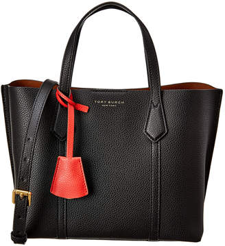 Tory Burch Perry Small Triple Compartment Leather Tote