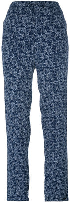 Woolrich printed straight trousers $148.65 thestylecure.com