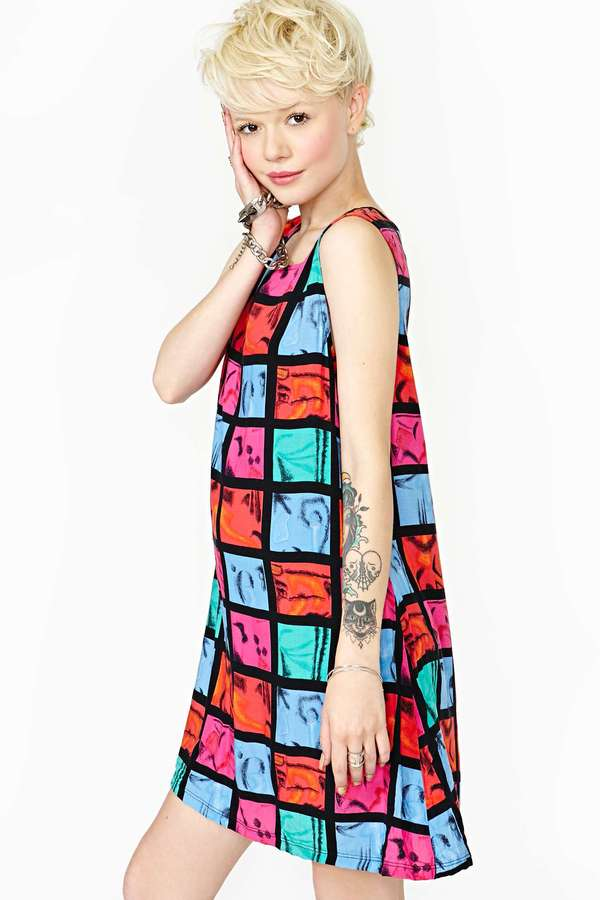 Nasty Gal Fair and Square Dress