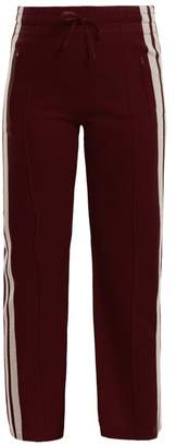 Etoile Isabel Marant Dobbs Stripe Trimmed Track Pants - Womens - Burgundy