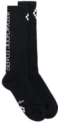 Marcelo Burlon County of Milan Cruz socks
