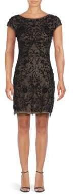 Aidan Mattox Beaded Mini Dress
