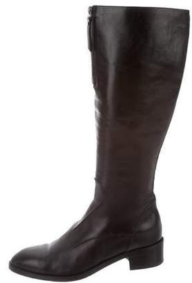 Antonio Maurizi Leather Knee-High Boots