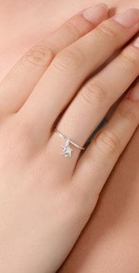 Bop Bijoux Star Stacking Ring