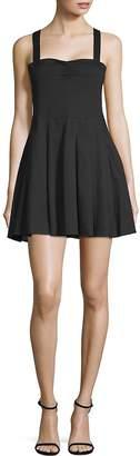 6 Shore Road Pleated Mini Dress