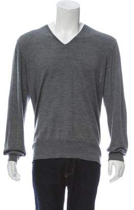 John Varvatos Wool Knit Sweater