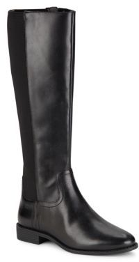 Cole Haan  Tilley Black Leather Boots