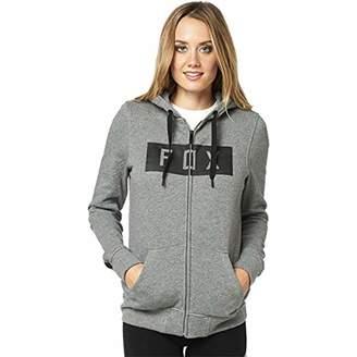 Fox Womens Women's Zip up Hooded Fleece
