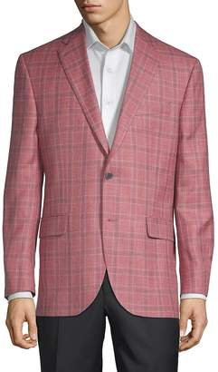 Jack Victor Men's Conway Plaid Sportcoat
