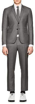 Thom Browne Men's High-Armhole Worsted Wool Three-Button Suit