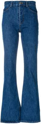 Matthew Adams Dolan high rise flared jeans