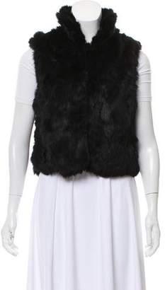 Surell Collared Fur Vest