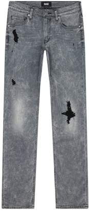 Paige Lennox Distressed Skinny Jeans