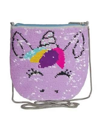 Iscream Kids' Unicorn Sequin Crossbody Bag