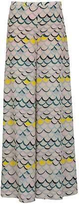 M Missoni Scale Print Trousers